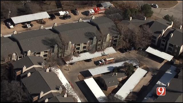 Suspected Meth Lab Prompts Evacuation At OKC Apartment Complex