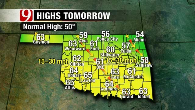 Spring Like Temperatures Back This Week For Oklahoma