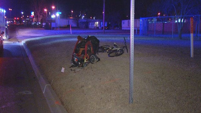 Bicyclist Injured After Being Hit By Car In SE OKC
