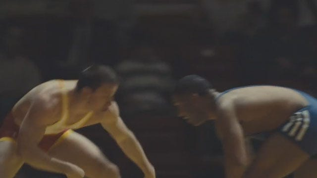 "El Reno Wrestling Standout Featured In Blockbuster Hit ""Foxcatcher"""