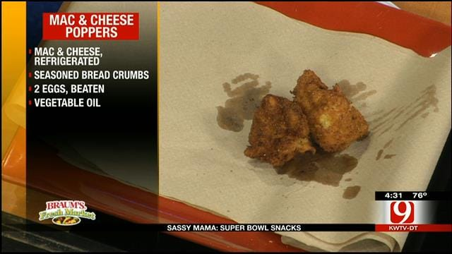 Mac And Cheese Poppers