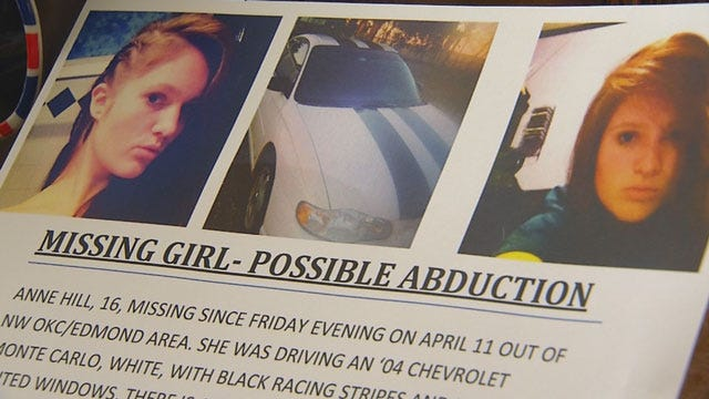 New Leads In Search For Missing Piedmont Teen, Anne Hill