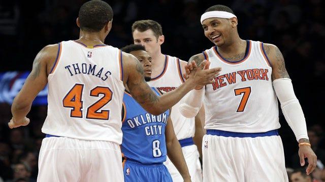 Miss Me Yet? Lance Thomas Leads Hapless Knicks Past Thunder