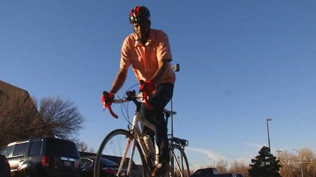 NYC Man Biking Across Country For Charities Stops In OKC