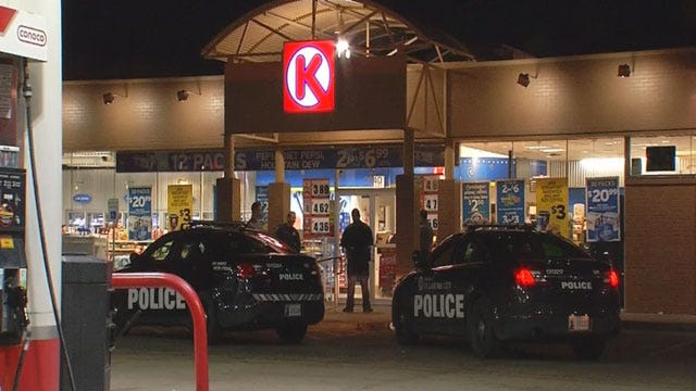 OKC Police Look For Two Suspects In Convenience Store Robbery