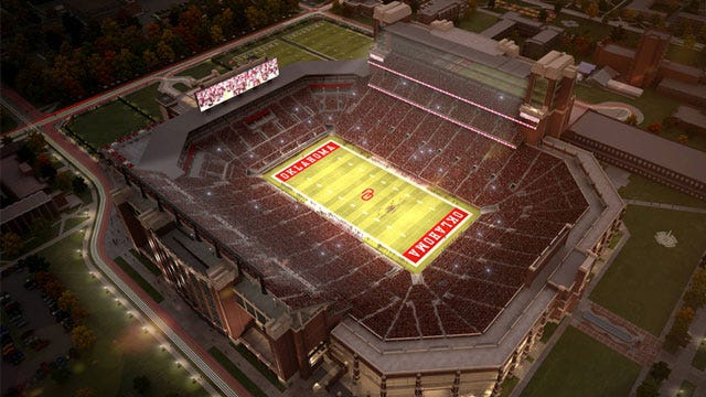 Oklahoma's Stadium Expansion Possibly On Hold
