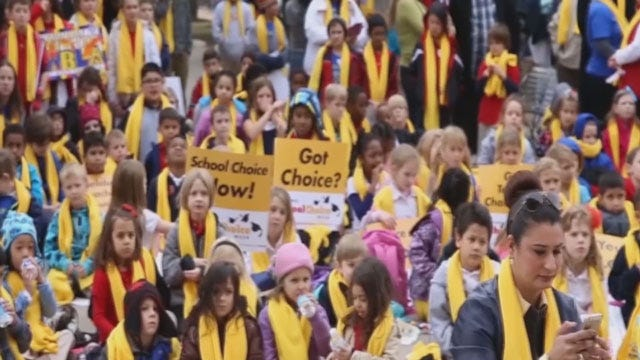 'School Choice Week' Pushes For More Learning Options For Children