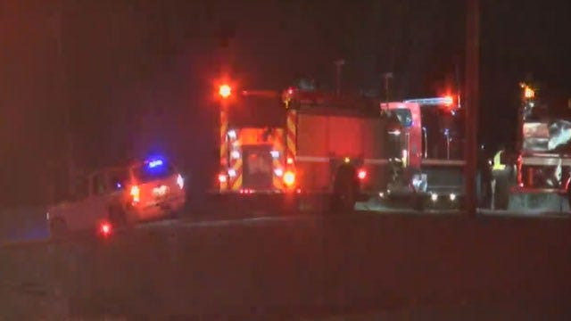 Authorities: Mobile Home Fire Spreads To Nearby Grass In Piedmont