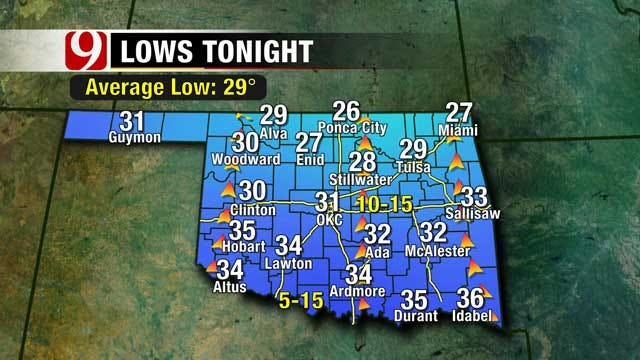 Cooler, Wetter Weather On The Way To Oklahoma