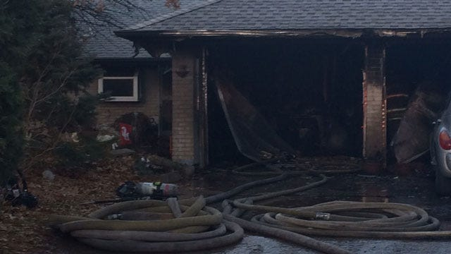 Firefighters Put Out House Fire In NW OKC