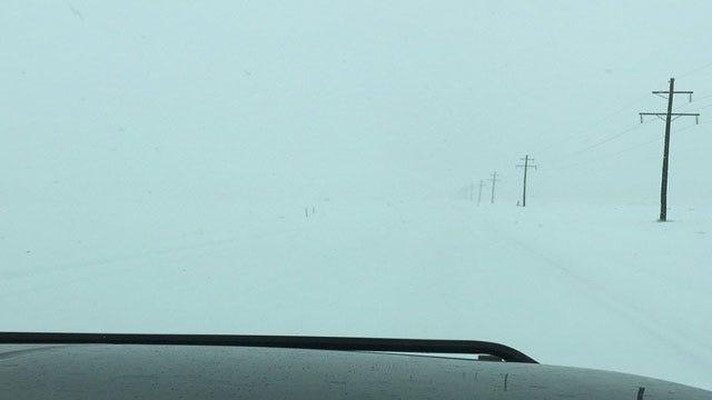 Roadways Impacted By Snowfall In OK Panhandle