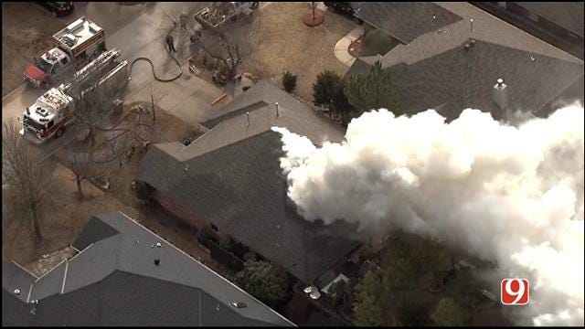 Firefighters Contain NW OKC House Fire