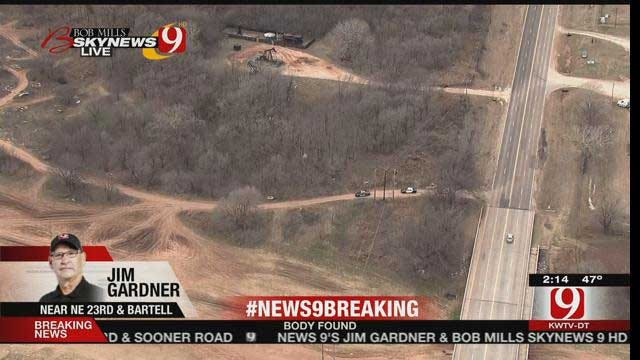 OKC Police Investigating Body Found In NE Oklahoma City