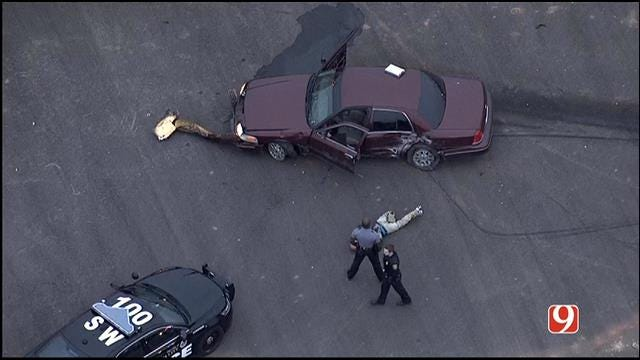 Police Catch Suspect After Chase In SW Oklahoma City