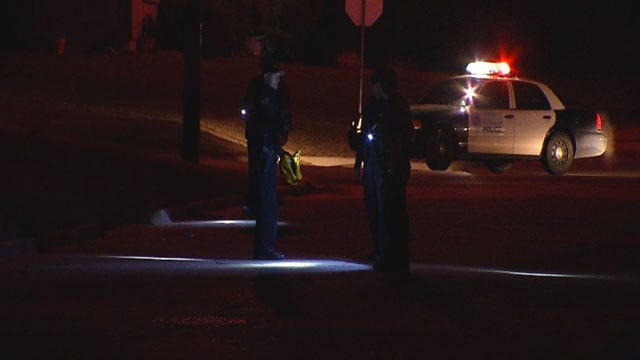 Police Investigate Drive-By Shooting Near Downtown OKC