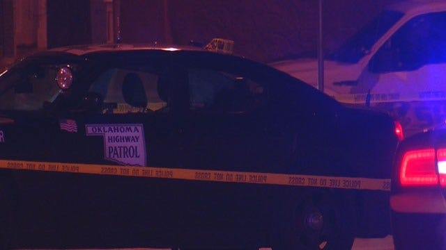 Authorities Investigate Shooting Involving OHP Trooper In Guthrie