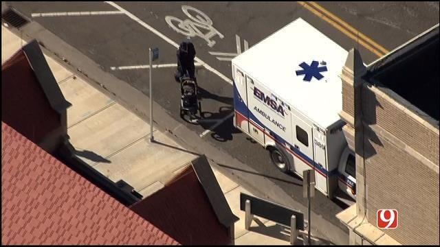 Injury Crash Involving City Bus Reported Near Downtown OKC