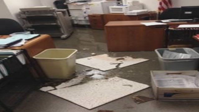 OK Co. Sheriff: Inmates Clog Pipes To Flood Jail Offices On Purpose