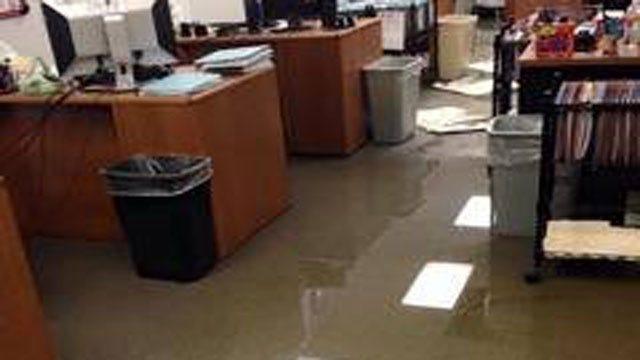 Oklahoma County Jail Flooded Again