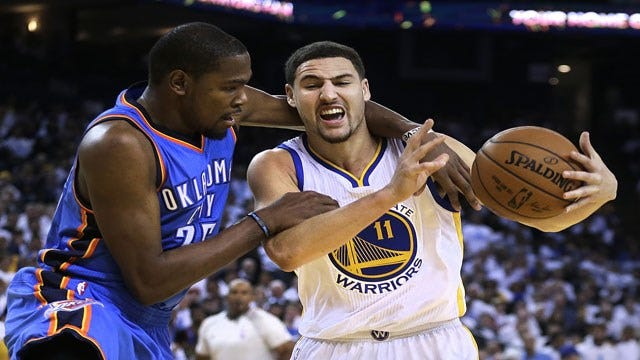 Golden State Of Mind: Warriors Cruise Past Thunder