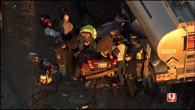 Injury Crash Involving Semi Reported On Route 62, West Of Blanchard