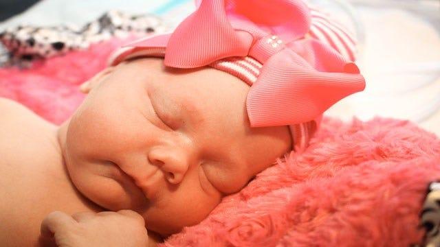 It's A Girl! Amanda Taylor Gives Birth To Baby Harlow