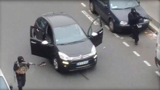 Manhunt After Deadly Attack On Paris Newspaper Office