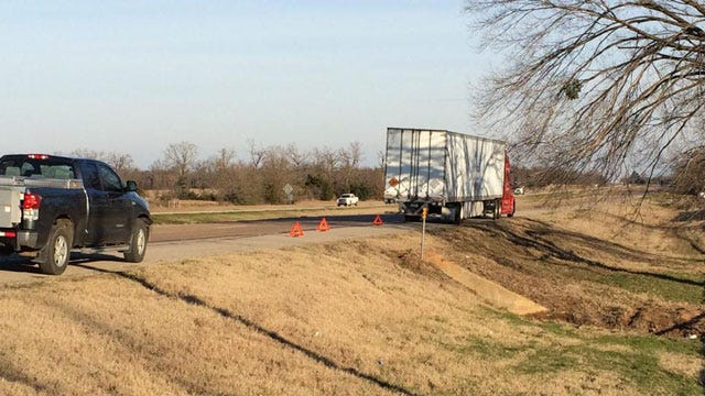 Semi Carrying Military Explosives Crashes Near Hugo In Choctaw County