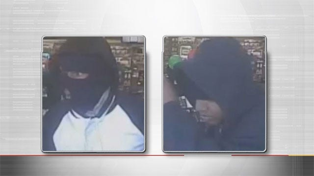 Suspects Caught On Camera Robbing OKC Game Stop At Gunpoint