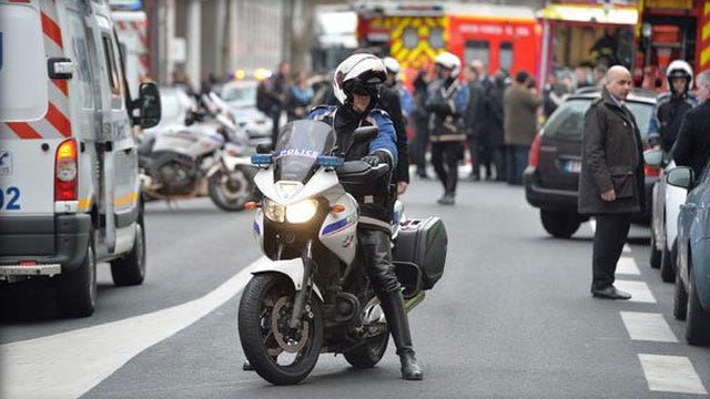 Paris Suspects Reportedly Spotted As 3rd Cop Killed