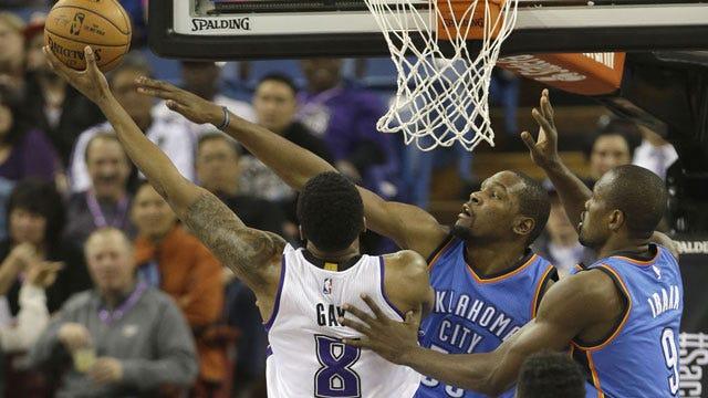 Royal Beatdown: Thunder Crushed In Sacramento