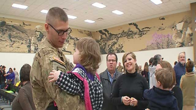 Last Oklahoma Troops In Afghanistan And Iraq Return Home