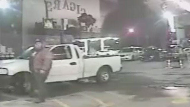 Security Cameras Catch Thief Outside Moore Businesses