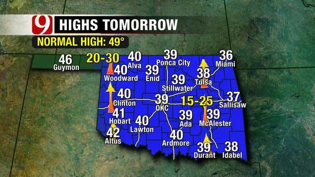 Skies To Remain Mostly Clear Friday Night