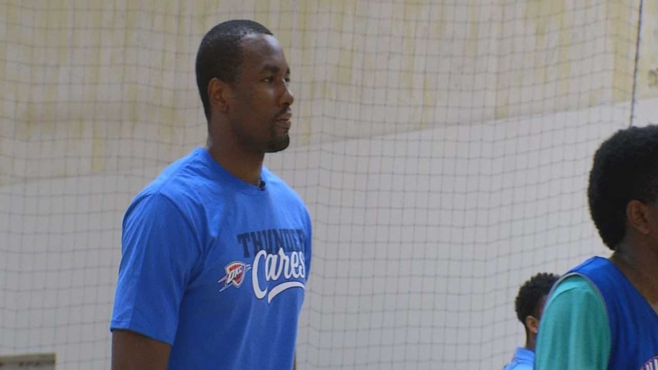 1-On-1 With OKC Thunder's Serge Ibaka