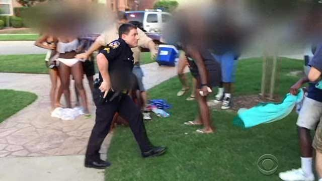 Video Catches Cop Pulling Gun At Teens' Pool Party