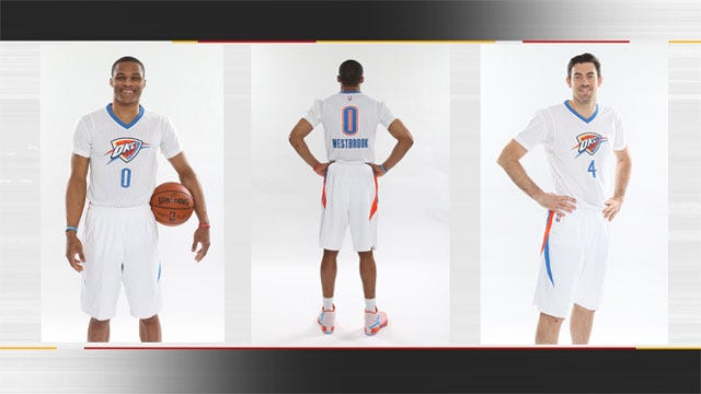 Thunder Announces New Alternate Uniforms