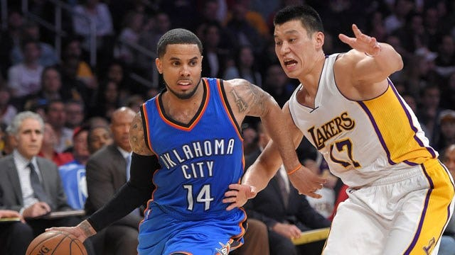 Thunder Gets Past Lakers With No Durant Or Westbrook