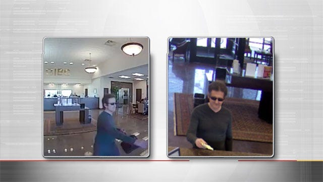 Oklahoma City FBI Search For Alleged Bank Robber