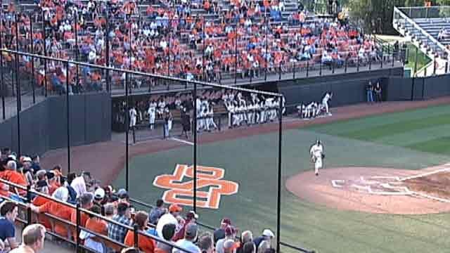 OSU Baseball Blows Out Alcorn State