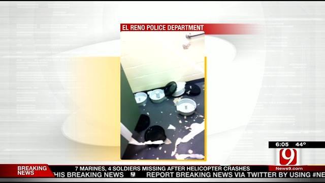 Police: Vandals Trash Restroom At El Reno Park