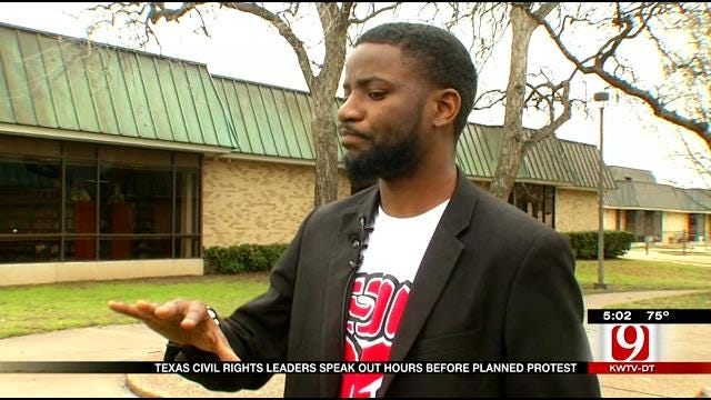 Texas Civil Rights Activists Speak Out Ahead Of Planned Protest