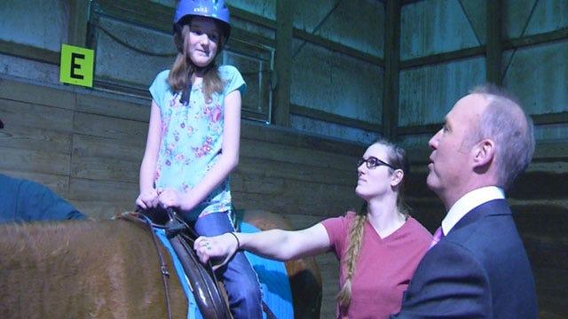 Yukon Girl Gets Surprise Visit From Her Favorite Meteorologist, David Payne