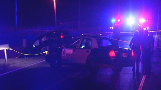 Three Recovering Following Crash Involving Police Car In SE OKC