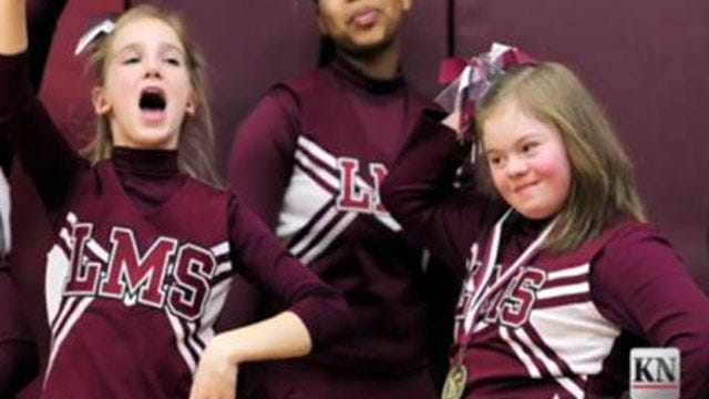 Middle School Basketball Players Defend Bullied Cheerleader