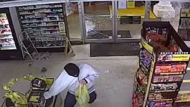 Police Search For OKC Dollar General Burglary Suspect