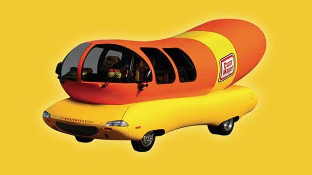 Wienermobile Pulled Over In Wisconsin For Traffic Infraction