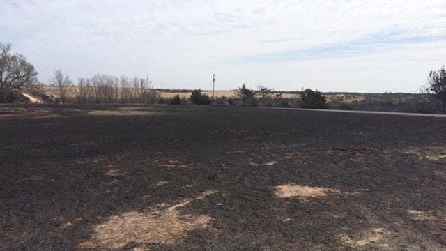 Crews Continue To Contain Massive Wildfire In Northwest Oklahoma