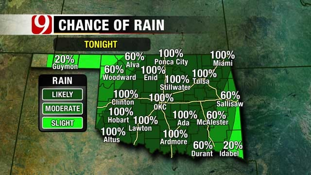 Soggy Weather On The Way In Oklahoma