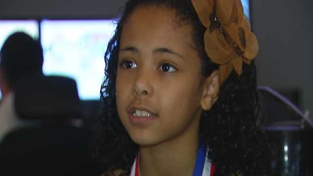 9-Year-Old Honored For Saving Grandmother's Life